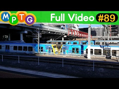 Melbourne's Metro Trains (Full Video #89)
