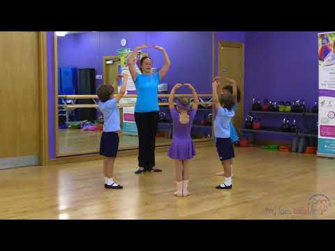Learn basic ballet steps for children