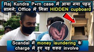 Crime Branch finds hidden cupboard in Shilpa's husband Raj Kundra's office during - TELLYCHAKKAR