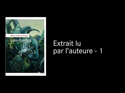 Vidéo de Marie-Sabine Roger