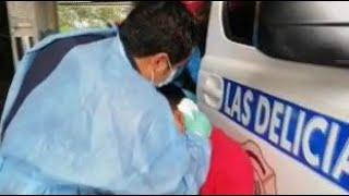 Bomberos Municipales  brindan atención prehospitalaria a menor de edad herido
