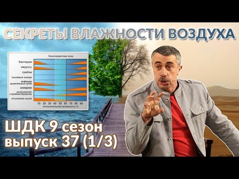 Секреты влажности воздуха — Доктор Комаровский