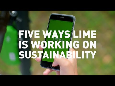 5 Ways Lime Is Working On Sustainability