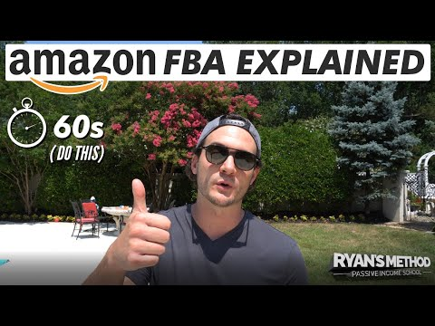 Amazon FBA Explained in 60 Seconds