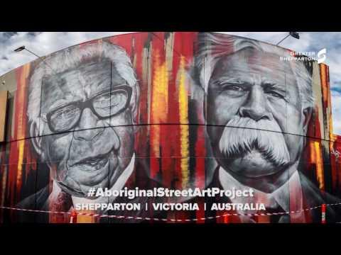 TIMELAPSE - Aboriginal Street Art Project - Greater Shepparton
