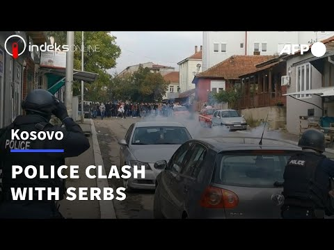 Tensions soar as police clash with Serbs in north Kosovo | AFP