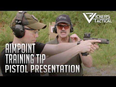 Aimpoint Training Tip - Pistol Presentation