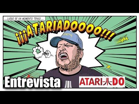 ATARIADO ENTREVISTA Y JUEGOS