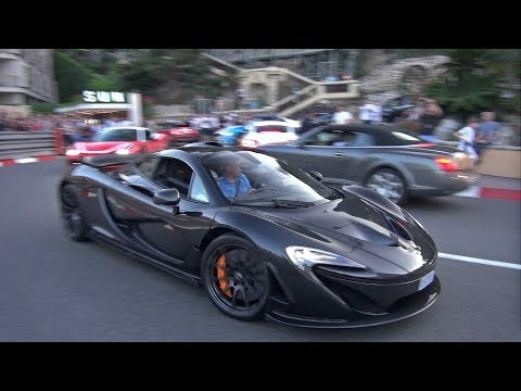 Mika Häkkinen driving his McLaren P1 in Monaco!