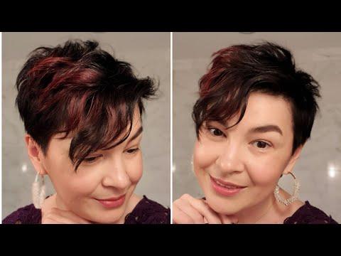 Вечерняя укладка коротких волос с локонами на Новый год: как уложить жвачкой для волос photo