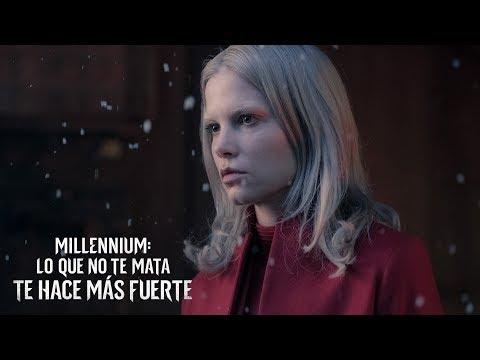 MILLENIUM: LO QUE NO TE MATA TE HACE MÁS FUERTE. Vuelve Lisbeth. En cines 9 de noviembre.