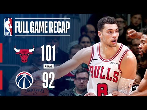 Full Game Recap: Bulls VS Wizards | Chicago Takes Down Washington