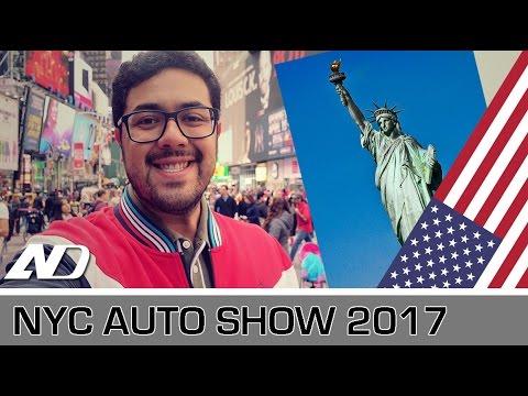 Auto Show de Nueva York 2017 - Vlog