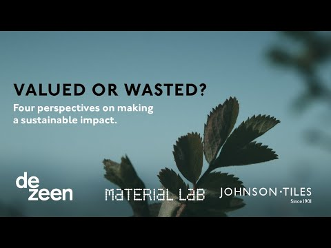 Live talk on waste and sustainability for Johnson Tiles   Dezeen
