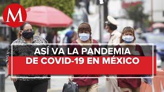 México llega a 34 mil 191 muertes por coronavirus; registra 289 mil 174 casos
