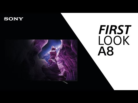 FIRST LOOK: Sony A8 TV