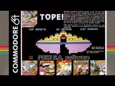 Commodore 64 Real 50Hz - Distribuidoras de Software españolas en los 80: POKES.A