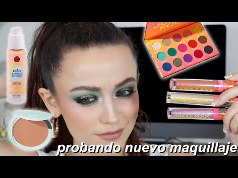 TESTING NEW MAKEUP IN SPANISH!!! *with English subtitles*