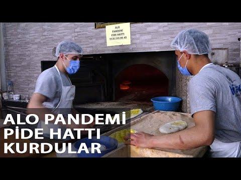 'Alo Pandemi Pide Hattı'yla Evden Çıkamayanlara Pide Servisi