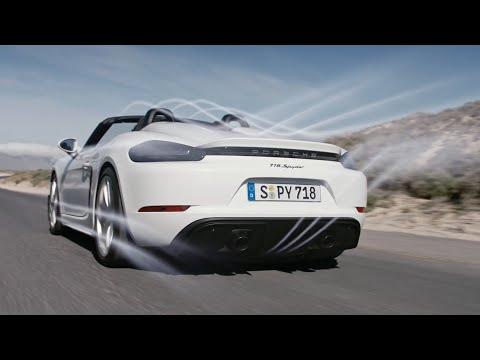 The new Porsche 718 Spyder. Product highlights.