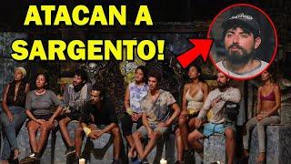 Jaguares hablan mal de Sargento! - Survivor México
