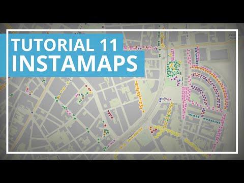 Tutorial d'Instamaps 11: Elaborar un mapa d'arbres de Barcelona amb dades de Google Drive (abr 2020)