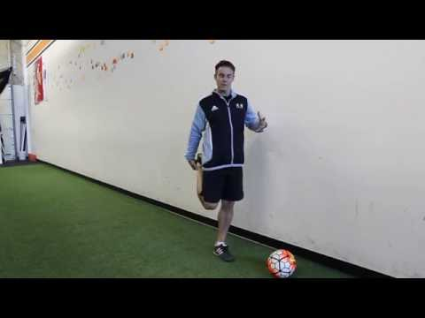 Soccer Speed Secrets Quad Stretch