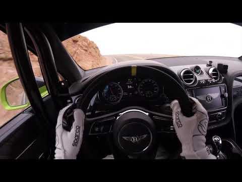 Pikes Peak Bentayga - Rhys Millen's Drivers-Eye View | Bentayga