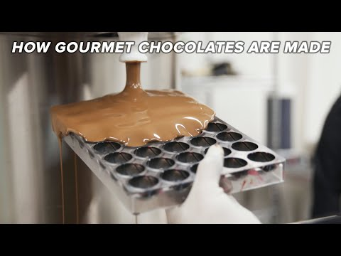 How Gourmet Chocolates Are Made ? Tasty