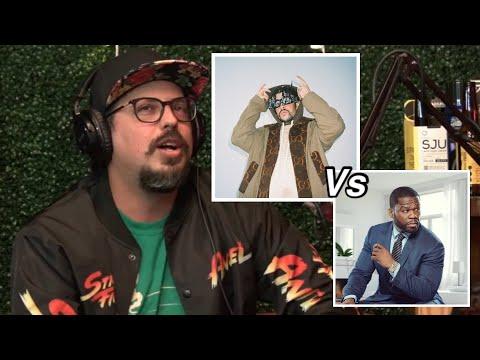 Bad bunny vs 50 Cent, quién es más grande