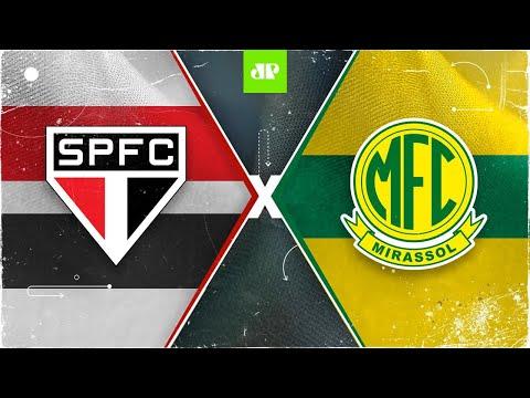 São Paulo x Mirassol - AO VIVO - 16/05/2021 - Campeonato Paulista