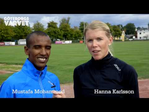 Göteborgsvarvet Träningsprogram med Hanna och Musse