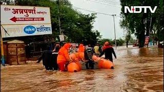 Heavy Rain In Maharashtra Breaks 40-Year July Record, Navy Roped In - NDTV