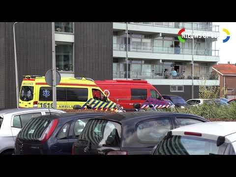 Gewonde na brand in woning de Meidoorn Nieuwerkerk aan den IJssel photo