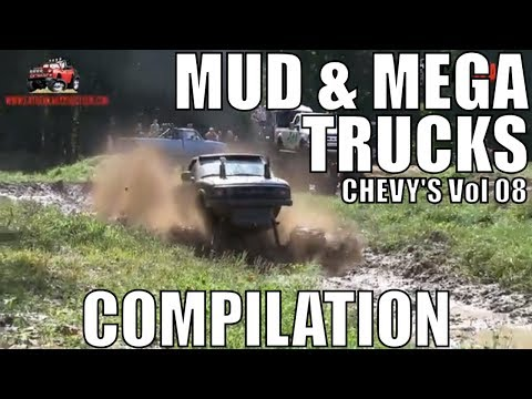 CHEVY MUD & MEGA TRUCK MUD COMPILATION 2018 VOL 08