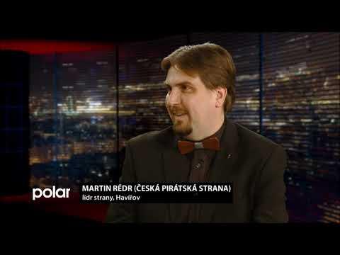Martin Rédr v TV Polar a předvolební interview 2018