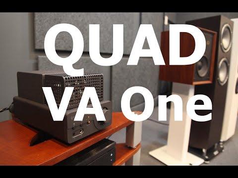 QUAD VA One - обзор усилителя с записью звука на трех АС #Soundex_review