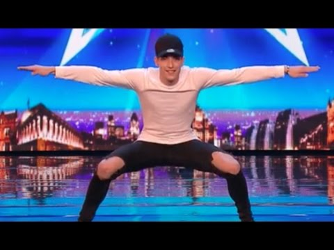 Jake Stephens Shows Off His Dancing Skills | Audition 6 | Britain's Got Talent 2017