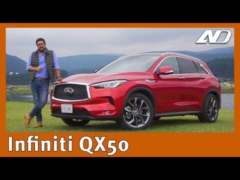 """Infiniti QX50 - Bonita, pero ¿A la altura de sus rivales"""""""