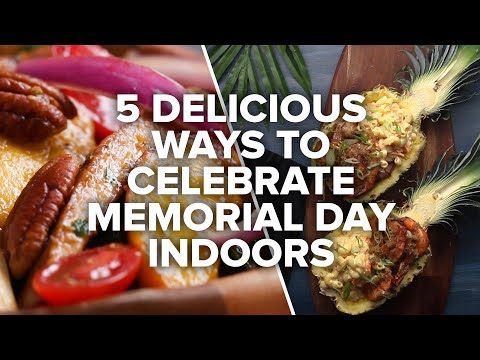 5 Delicious Ways To Celebrate Memorial Day Indoors ? Tasty Recipes