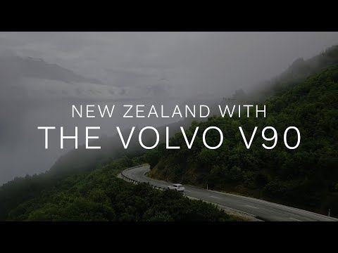New Stories In New Zealand With The Volvo V90 Cross Country