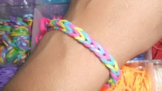 How To Make Rainbow Bracelet
