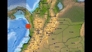 Temblor de tierra en Chocó se sintió en Antioquia y otras regiones
