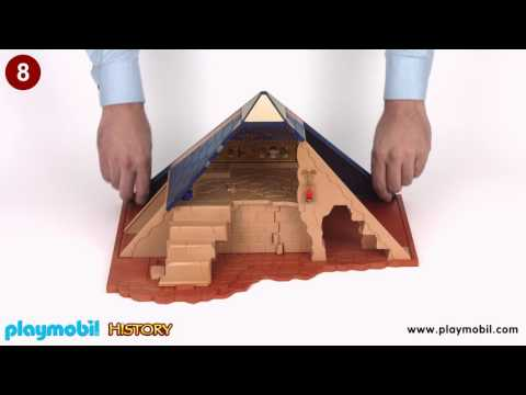 PLAYMOBIL Instruction - Pharaoh's Pyramid (5386)