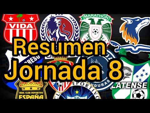 VICTORIA sorprende y el VIDAes el nuevo lider / Resumen Jornada 8 Liga Nacional