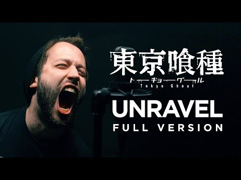 connectYoutube - UNRAVEL (FULL version - Tokyo Ghoul OP) - English opening cover by Jonathan Young