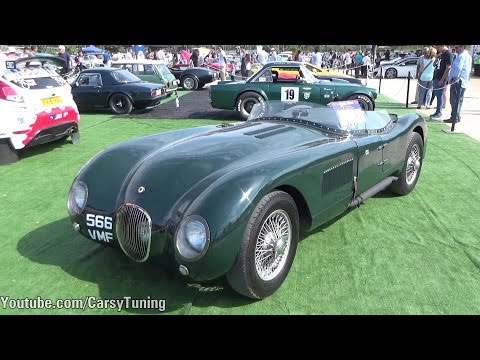 Anglo Cars 2015 - One-77, 300SL, Huracan, Speed W12 and more!