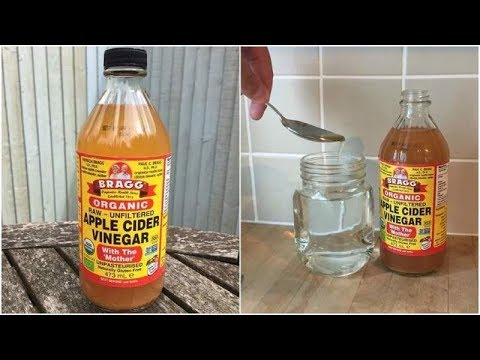 Put A Tablespoon Of Apple Cider Vinegar In Water And Have Before Bed  Here's Why