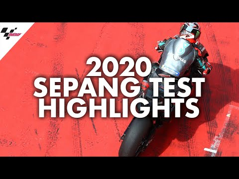 HIGHLIGHTS   3 Days of Action from the 2020 Sepang Test!