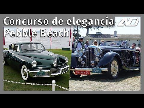 Los autos mas hermoso del mundo están aqui: Pebble Beach 2018